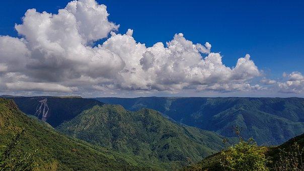 Shillong, Cloud, Hills, Nature, Green