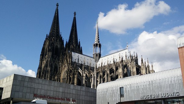 Cologne Cathedral, Landmark, Cologne Church, Rhine, Dom
