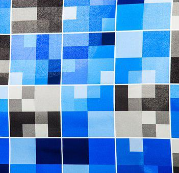 Fabric, Pattern, Vivid Color, Weaving, Copy Space