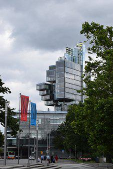 Building, Glass, Hannover, Urban, Skyscraper, Sky