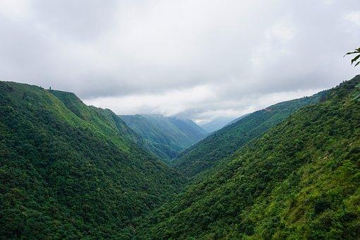 Shillong, Cloud, Cherapunji, Hill, Green