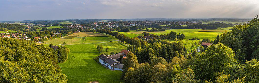Ebersberg, Bavaria, City, Village, Community, Homes