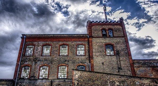 Industrial Building, Industrial Hall, Building, Hall