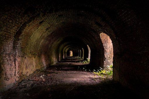 Tunnel, Dark, The Darkness, Light, Crash