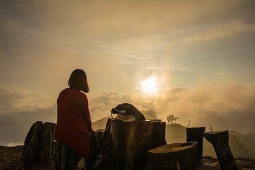 Sunset, Camp, Travel, Nature, Landscape, Hiking