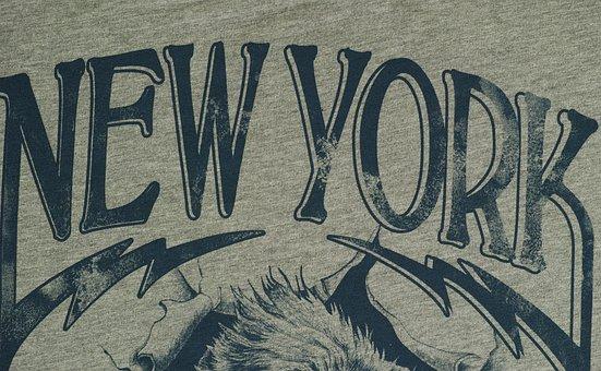 Pattern, Printing, Graphics, New York, Fabric