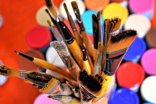 Brush, Color, Acrylic, Painting, Paint, Art, Colorful