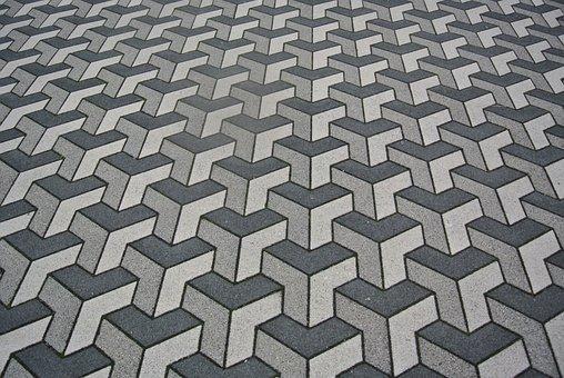 Parking, Patch, Ground, Flooring, Structure, Pattern