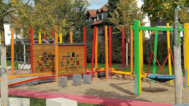 Playground, Play, Children, Adventure, Network