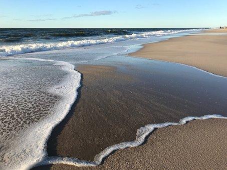 Sylt, North Sea, Beach, Sand, Sea, Dunes, Landscape