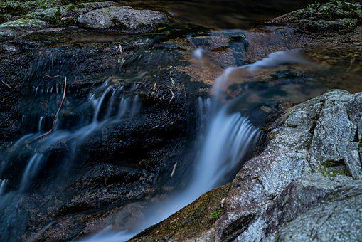 Streams, Long Exposure, The Wild