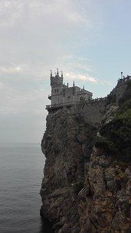 Crimea, Swallow's Nest, Rocks