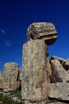 Pillar, Antique, Temple, Ruin, Architecture, Building