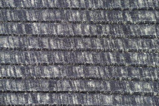 Grey, Fabric, Pattern, Vivid Color, Weaving, Copy Space