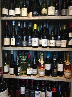 Wine, Shelf, Wine Rack, Bottles, Wine Bottle