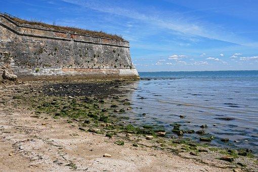 Beach, Castle, Sea, Holiday, Fortress, Citadel