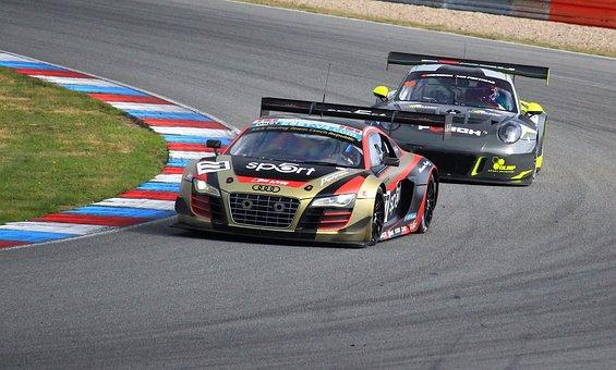 Brno, Gt, Audi, Porsche, Racing, Race Track, Circuit