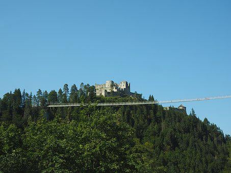 Burg Ehrenberg, Ruin, Height Burg, Highline179