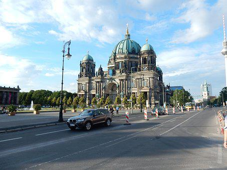 Berlin, City, Capital, Architecture, Building, Dom