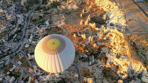 Turkey, Kapadokya, Cappadocia, Balloon, Ballooning