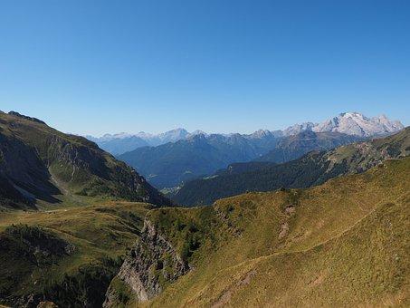 View, Distant View, Cima Della Vezzana