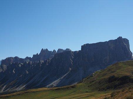 Dolomites, Mountains, Mountain Group, Cima Ambrizzola
