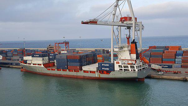 Container Ship, Ship, Freighter, Container, Port, Cargo