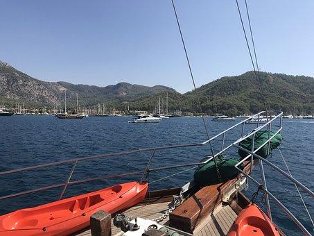 Gulet, Turkey, Sail, Gülcek