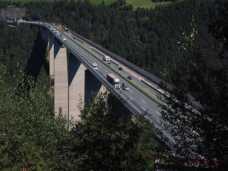Europe Bridge, Bridge, Highway Bridge, Car Bridge