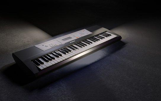 Keyboard, Keys, Input Device, Musical Instrument
