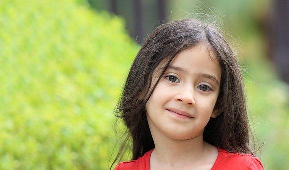 Kids, Girl, Little, Portrait, Daughter, Smile, Family