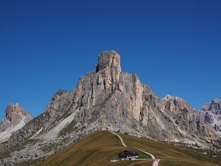 Mountains, Mountain Group, Monte Averau, Monte Nuvolau