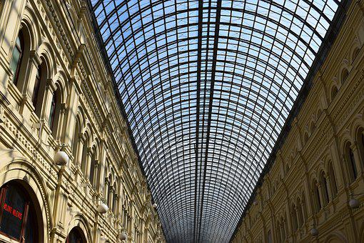 Moscow, Ceiling, Architecture