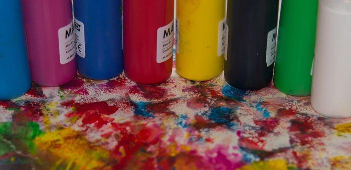 Paint, Color, Multi Color, Colorful, Set, Drawing