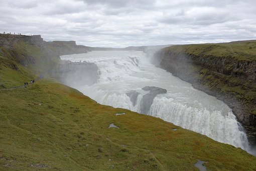 Iceland, Waterfall, Nature, Landscape, Force Of Nature