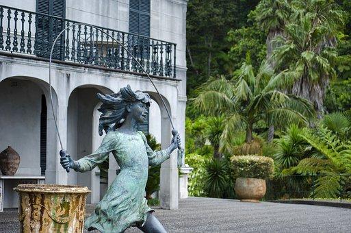 The Statue, Woman, Sculpture, Ornament, Figure