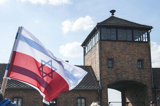 Auschwitz, Flag, Poland, Concentration Camp, The War