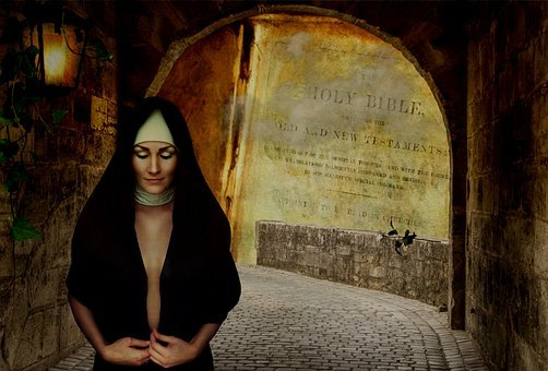 Nun, In Order To, Vault, Bible, Portal, Architecture