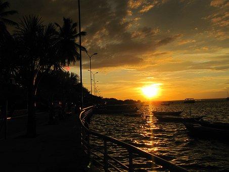 Sunset, Postcard, Alter Do Chão, Santarém, Pará, Rio