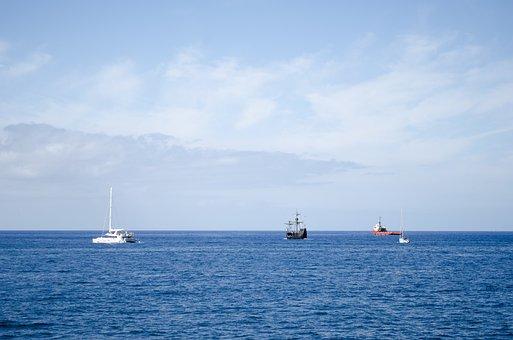 Ocean, Ship, Sea, Water, Ships, Boat, Cruises
