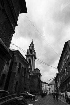 Bielsko-biała, City, Old, Street, Architecture