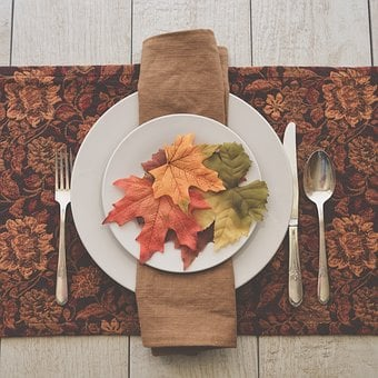 Fall Table, Table Setting, Fall Colors, Place Setting