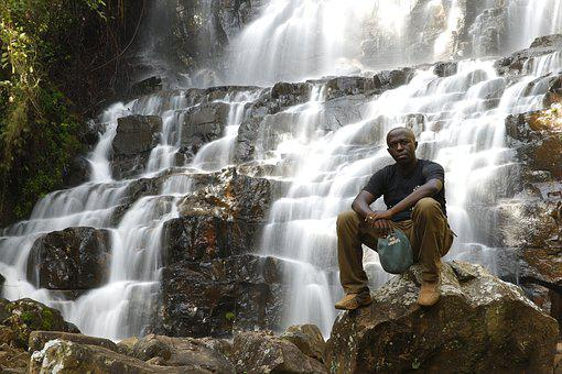 Waterfall, Shanga, Burundi, Rutana, Beauty, Africa