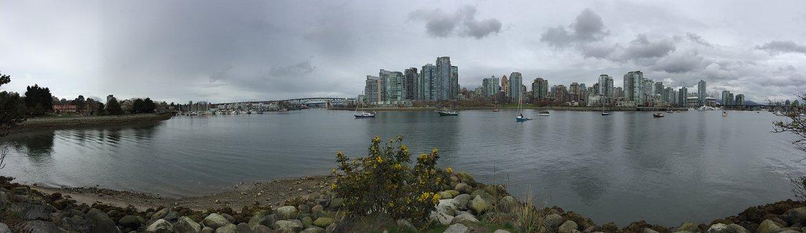 Vancouver, Water, Canada, Columbia, British, City