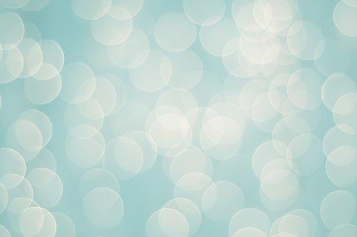 Blue, Lights, Background, Light Blue Background