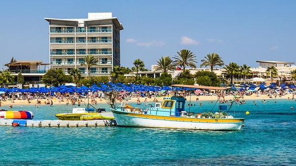 Cyprus, Ayia Napa, Makronissos Beach, Resort, Tourism