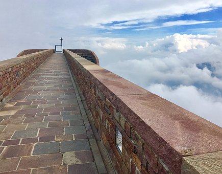 Chapel, Monte Tamaro, Mountain, Hill, Church, Away