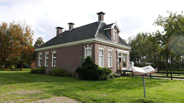 House, History, Netherlands, Architecture, Building