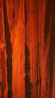 Fair Faced Concrete, Red, Stripes