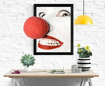 Clown, Actor, Nose, Room, Image, Funny, Circus, Laugh